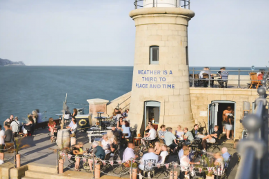 In the last decade, Folkestone's beachfront has been changed by art.