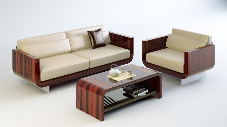office sofa in set decor 5