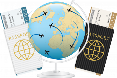 BECOME A TRAVEL AGENT ON THE INTERNET.