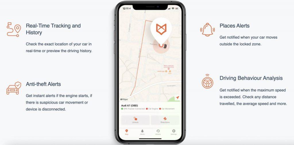 TrackingFox real time tracking history